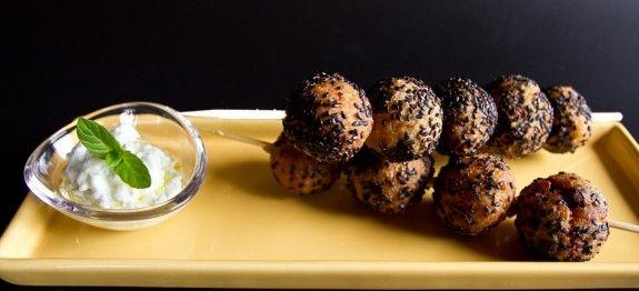 Polpette di miglio e melanzane - le ricette di lacucinavegetariana.it