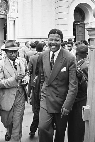 Jürgen SCHADEBERG :: Nelson Mandela Treason Trial, South Africa, 1958