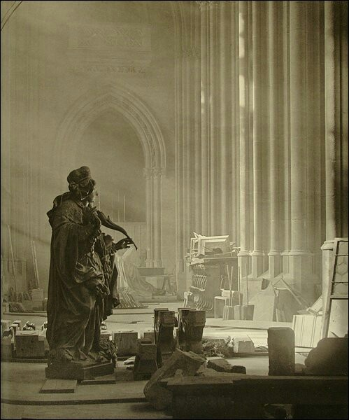 Josef Sudek - Cathedral (1924) #photography #Czechia #art