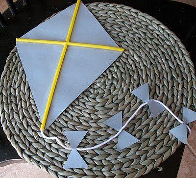 Kite craft ....April is national kite month