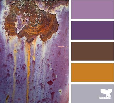 patina hues