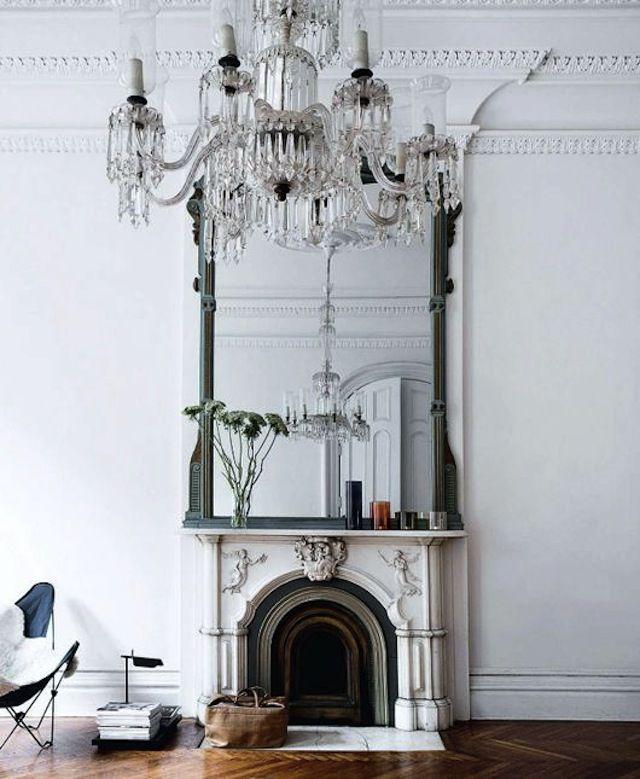 105 best AphroChic: Mantels images on Pinterest   Fireplaces ...