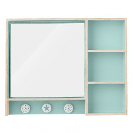 Simple Motif Design Kids Rooms Make Up Storage Blue Mirrors Cheap Mirror Mirror Blond Collection Grounds