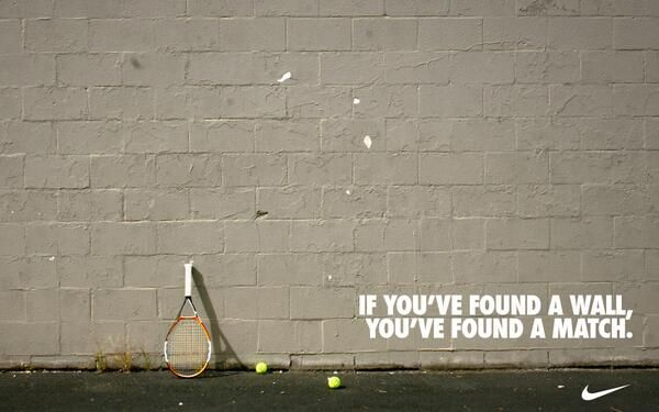You'll never be as good as a wall! Lol #yourhardestmatch #youcandoit