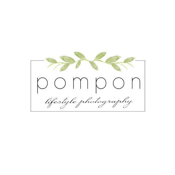 Simple Logo, Painted Logo, Watercolour Logo, botanical Logo, Modern Logo…