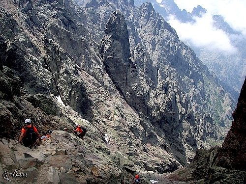Corsica GR20 Trail