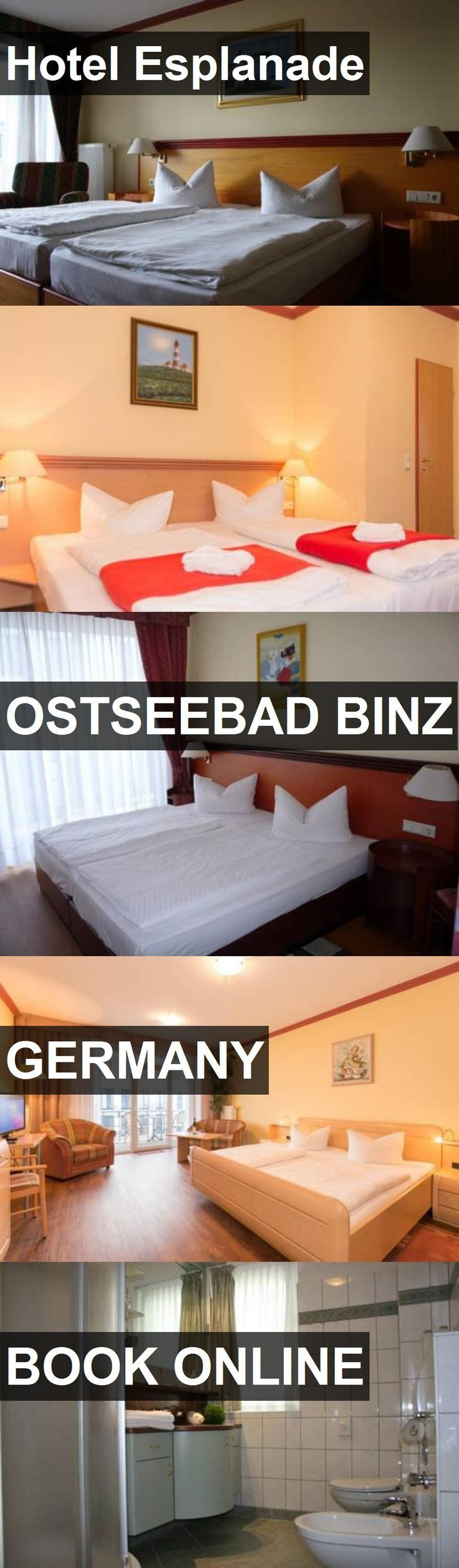 Hotel Esplanade in Ostseebad Binz, Germany. For more information, photos, reviews and best prices please follow the link. #Germany #OstseebadBinz #travel #vacation #hotel