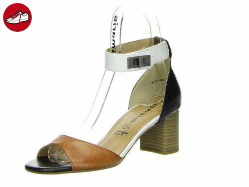 Tamaris 28350-32 Damen Sandalen Leder, Mehrfarbig, Größe 41 - Tamaris schuhe (*Partner-Link)