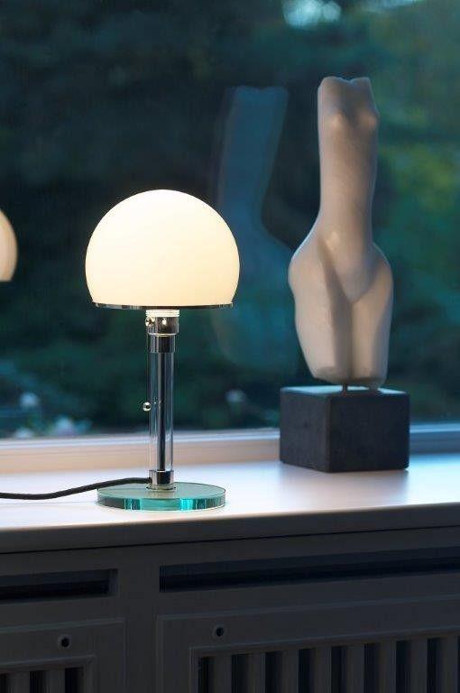 Bauhaus WG24 / WG 24 Wagenfeld Table lamp Tecnolumen - einrichten-design.de