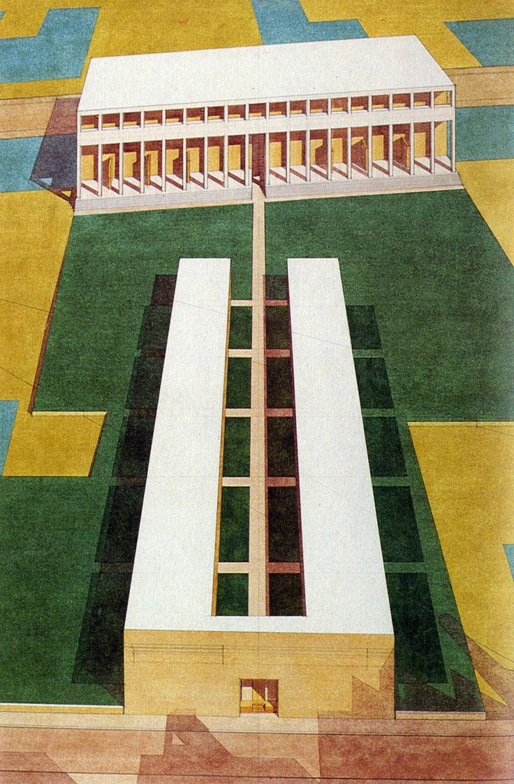 Giorgio Grassi, Residential Units, Abbiategrasso, Italy, 1972 -