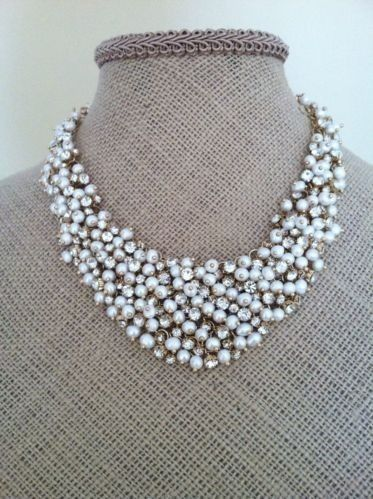 Permalink to Crystal Cluster Necklace