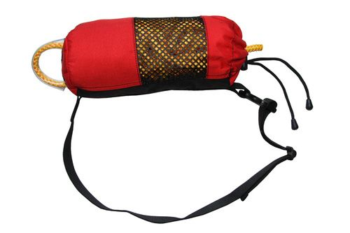 Waist Rescue Throwbag for rafting guides and swiftwater rescue technicians.