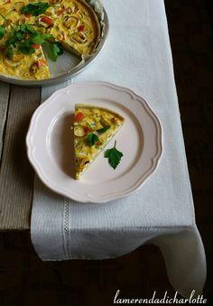 Oggi una ricetta di torta salata molto invitante e leggera con la pasta base fatta in casa… e' la quiche ai porri. Io la adoro e l'ho sempre fatta con il solo porro e dell'erba …Share the joy