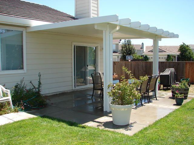 Patio Covers for Small Backyards | covered patio designs – 04 solid patio cover [640x480] | FileSize ...