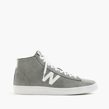 The 891 is unlike anything we've seen from New Balance before. With the clean look of a retro sneaker, a suede body and a handsome color combination that's exclusive to J.Crew, this is what high-tops are supposed to look like. <ul><li>Suede upper.</li><li>Rubber sole.</li><li>Import.</li></ul>