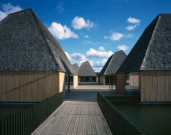 Adam Khan Architects, Brockholes Visitor Centre Preston UK.