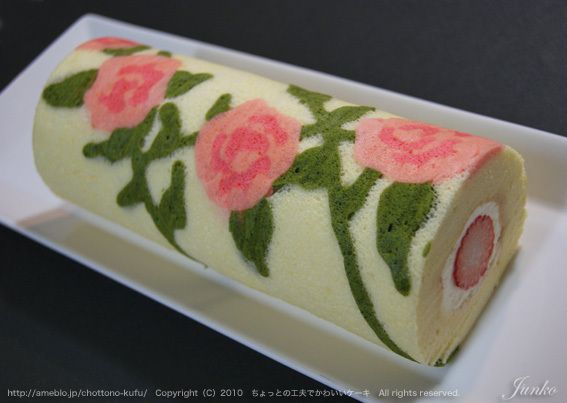 White Cake Jelly Roll Recipe: 344 Best Images About Cake Rolls (^_^) On Pinterest
