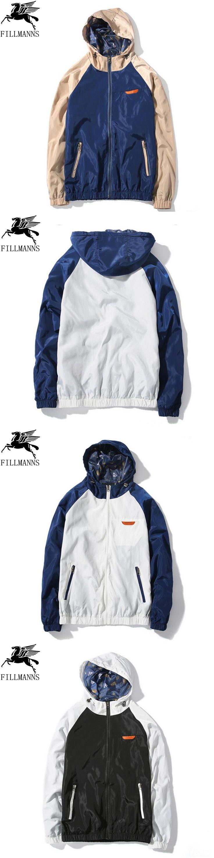 mens jackets and coats casual jacket male 2017 Autumn Hoodie Jacket Men Waterproof Clothes Men's Windbreaker Coat Male Outwear