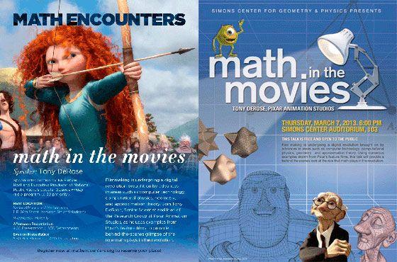 Las matemáticas de la animación 3-D, ahora para todos los públicos