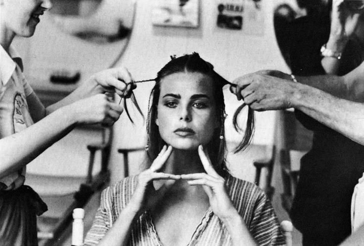 dietro le quinte: il make up delle modelle