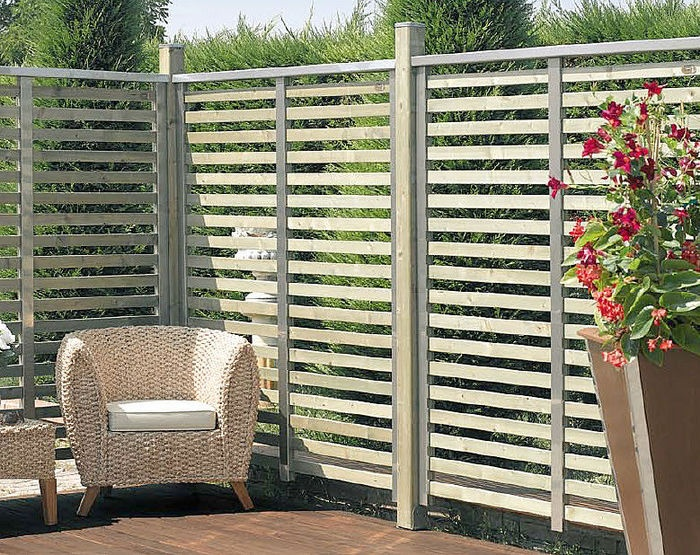 wooden lattice screen BERLINO IL CEPPO
