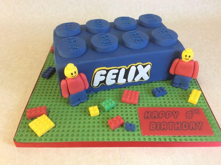 Large Lego block - Blue
