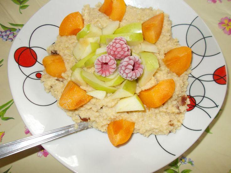 Jaglanka z owocami