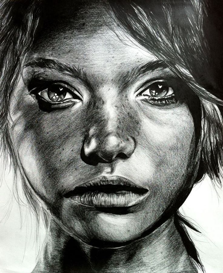 Black and white colored pencil drawing sketch illustration inspiration