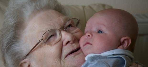 Abuela y nieto