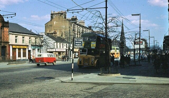 Rutherglen Main Street at Kirkwood Street (1967) pic Robert Henderson