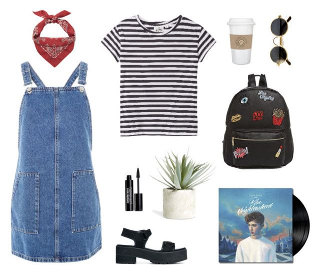 """""""denim suits"""" by alenaganzhela on Polyvore featuring мода, Cheap Monday, Yves Saint Laurent, Ollie & B, Topshop, Edward Bess, ASOS, WALL, Allstate Floral и vintage"""