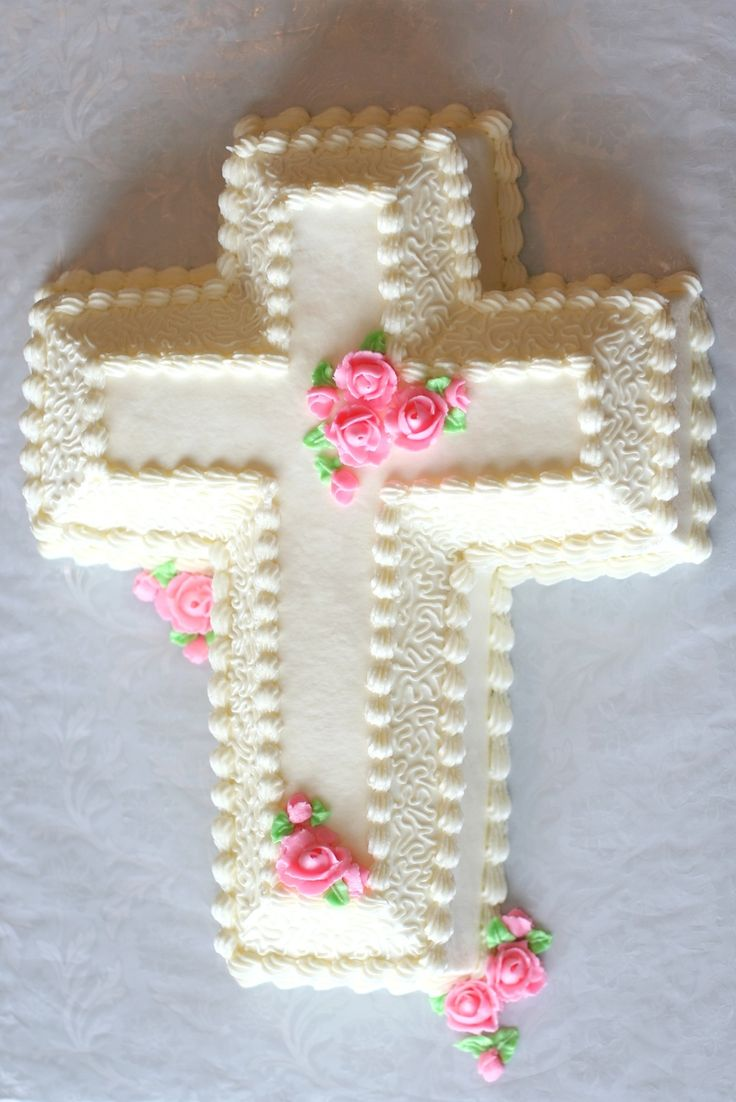Cross Cake Cross Cakes Baptism Cross Cake Christening