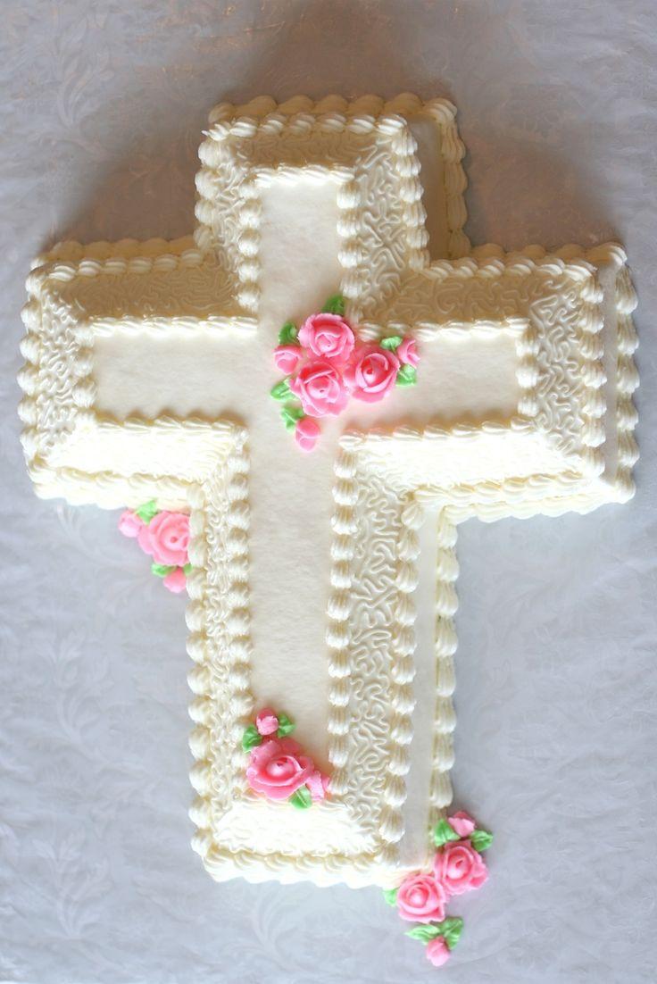 Cross Cake Cross Cakes Baptism Cross Cake Christening