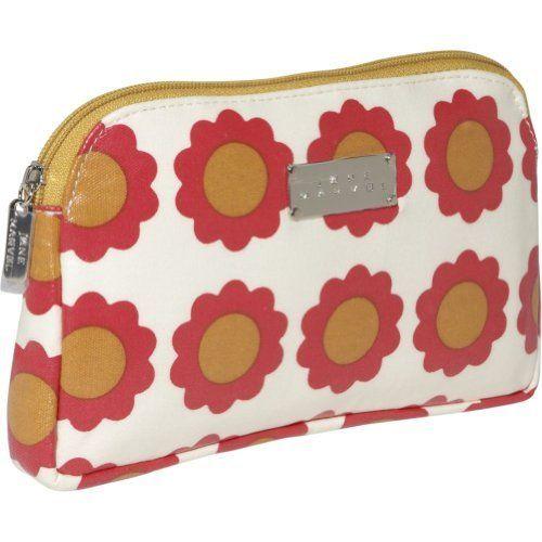 Jane Marvel Flat Cosmetic Bag- Coated Canvas (Sunshine Giant) Jane Marvel. $27.00