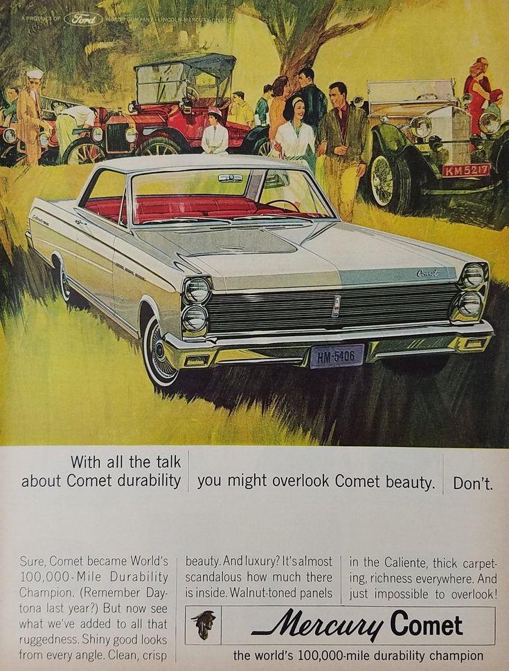 1964 Mercury Comet Vintage Ad - Dont Overlook Beauty