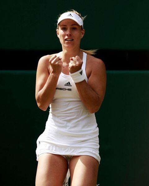 2 pm tomorrow. Keep killin it, champ ❤️ #angeliquekerber #Kerber #tennis #Wimbledon
