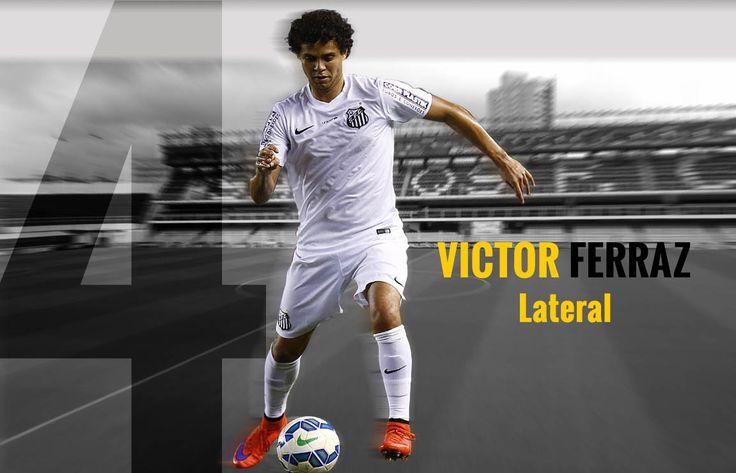 VICTOR FERRAZ...  Natural de: João Pessoa (PB) Nascimento: 18/01/1984 Peso: 72 Kg Altura: 1,77 Kg Posição: Lateral Jogador: Profissional Clubes:  Iraty-PR (2008); São José-PA (2009); Águia-PA (2010), Atlético-GO (2010-2011); Vila Nova-GO (2011); Bragantino-SP (2011-2012); Coritiba (2012-2014) Título: Campeonato Paulista 2015 (Santos FC)