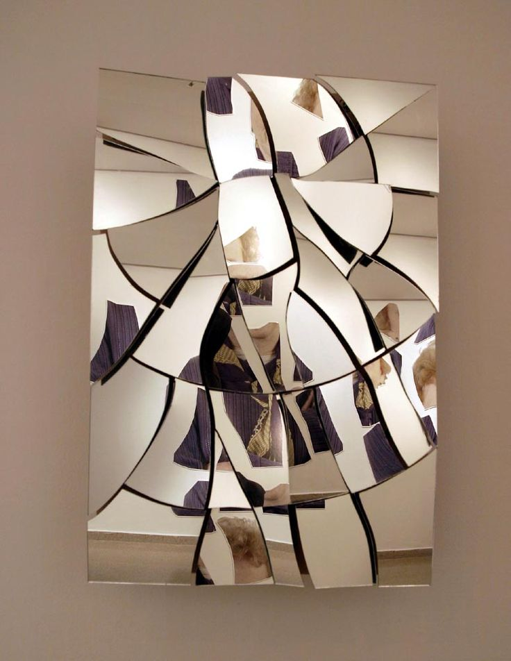 531 best mirror images on Pinterest Mirrors, Broken mirror art - broken design holzmobel