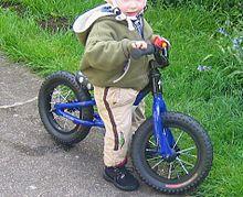 Balance bicycle - Wikipedia, the free encyclopedia