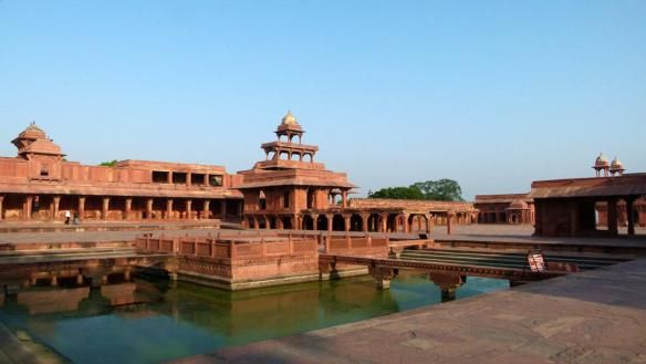 Fatehpur Sikri, saw this on a Black Magic chocolate advert (or was it Fry's Turkish Delight?) years ago and was determined to go.