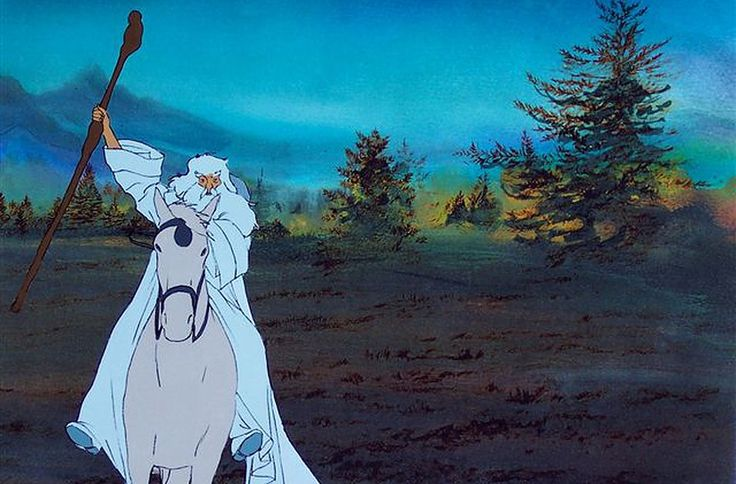 Ralph Bakshi Films and Art - THE LORD OF THE RINGS - GANDALF