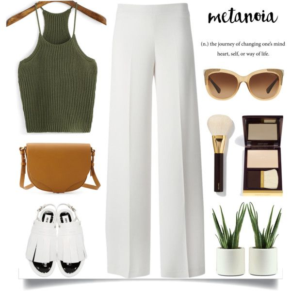 The First Day of August Outfit Idea 2017
