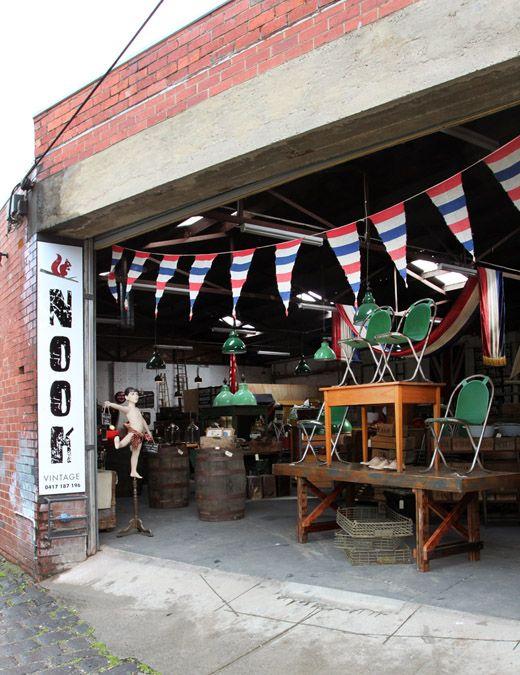 Nook Vintage Warehouse in North Fitzroy
