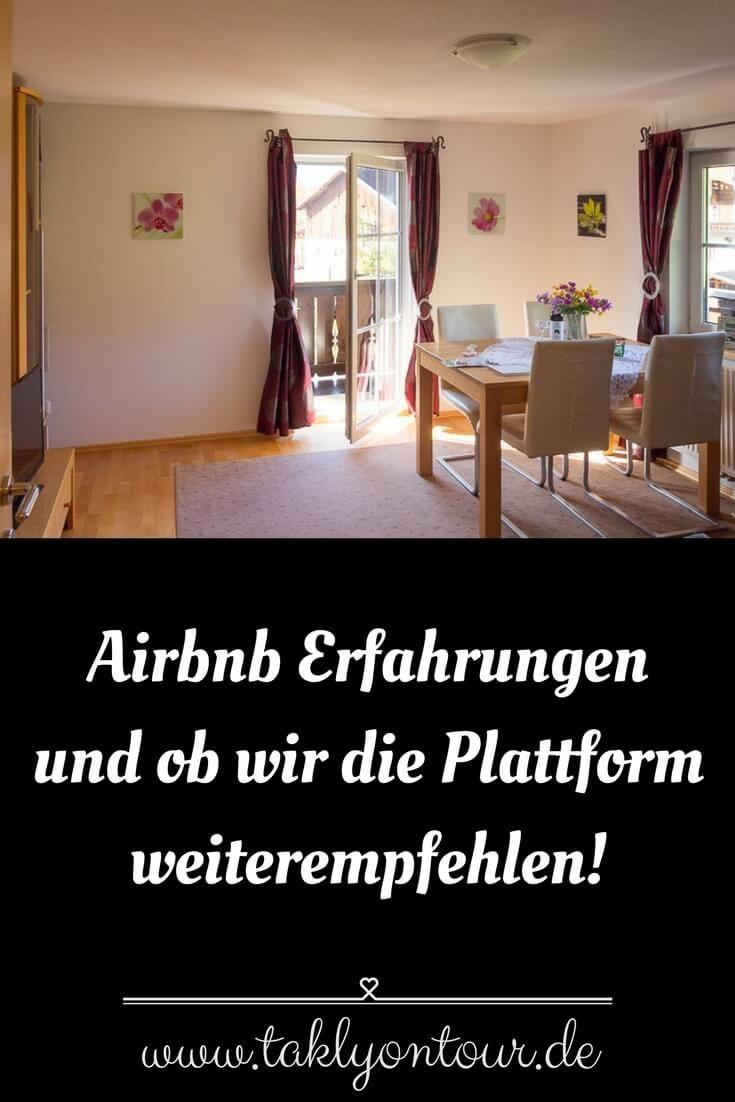 Unsere Airbnb Erfahrungen & Erlebnisse   Takly on tour → Der Reise ...