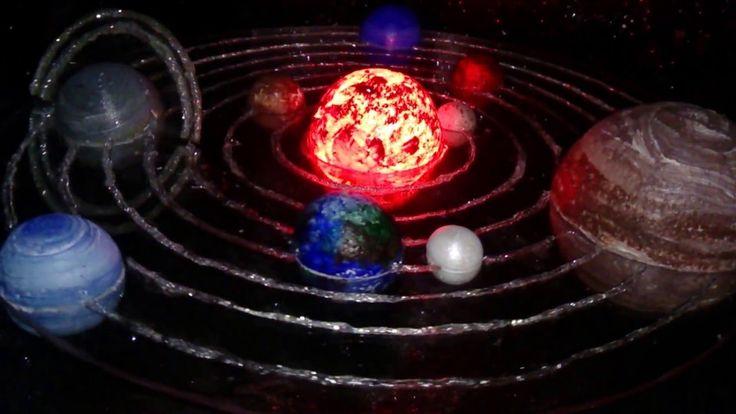 Sistema Solar.  ¡¡¡¡La mejor maqueta!!!!
