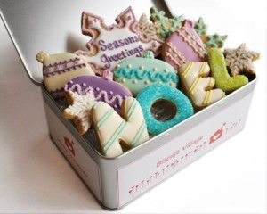 Perfect Royal Icing - How To... would also make lovely gifts during the Christmas season.