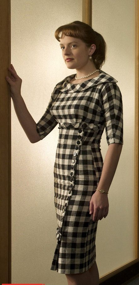 dress inspired by mad men - love to make it!