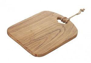 Acacia Wood Chopping Board Presentation Cheese Board Heart Carved Wood Handle from Janggalay
