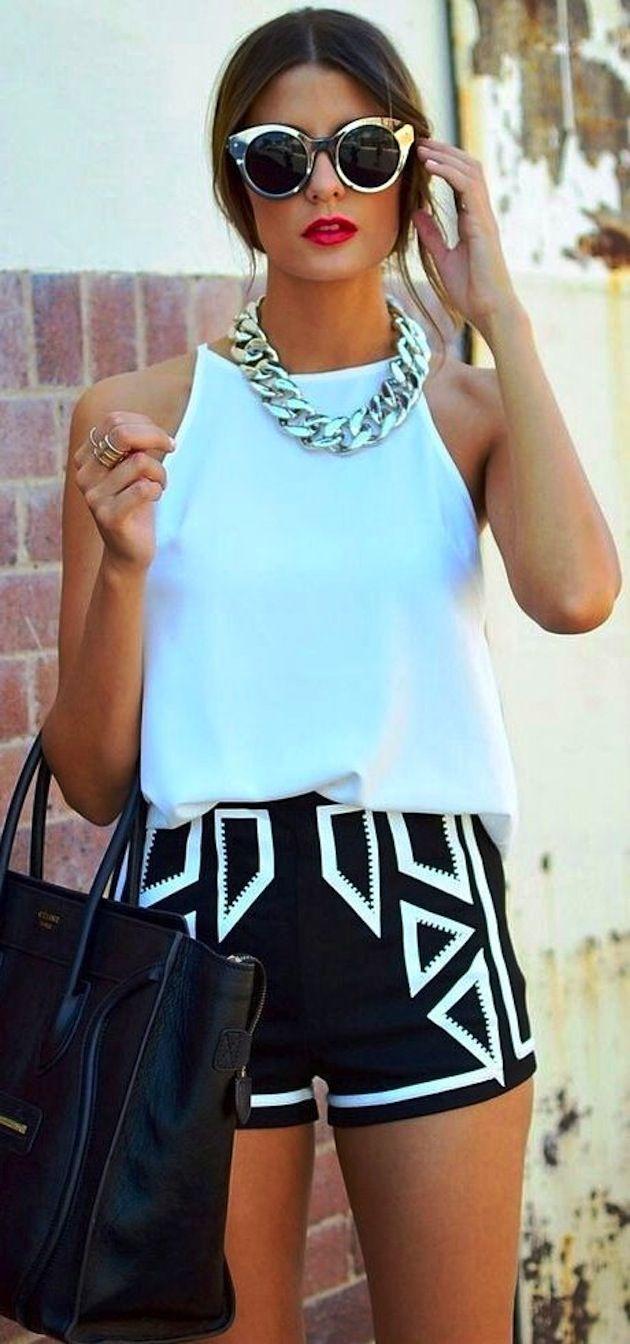 Um short um tiquinho mais cumprido vale mil vezes + q polpa de fora #fit #outfit #fashionoutfit