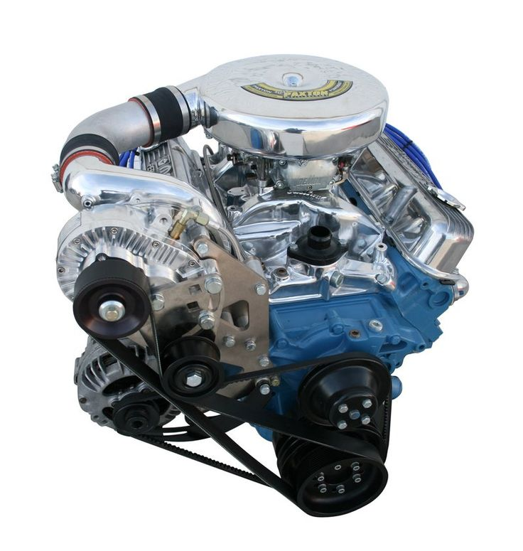 Small Block Mopar Carbureted Supercharger Systems | Paxton Superchargers